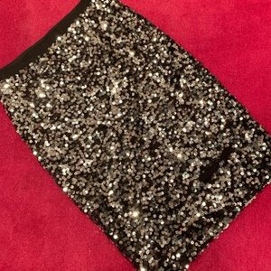 Sequins H&M sequins skirt size S